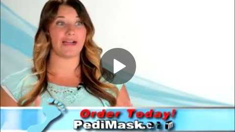 PediMask As Seen On TV Commercial PediMask As Seen On TV Foot Mask | As Seen On TV Blog