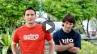 Astro byond - Lampard & Messi (Dua Mat Salleh) - 60 Seconds Version