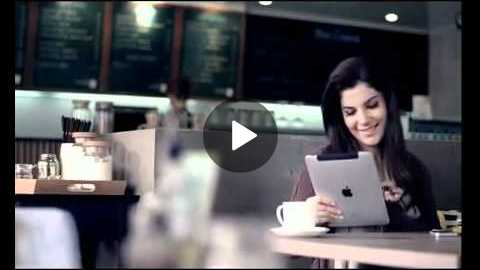 LATEST (Zong) M9 (2nd) Launch Ad - Cafe (funny + sweet) - Pakistani TV Commercials
