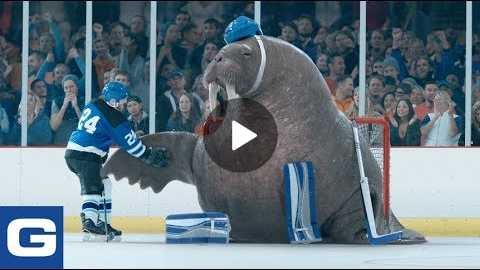 Walrus Goalie - GEICO Insurance