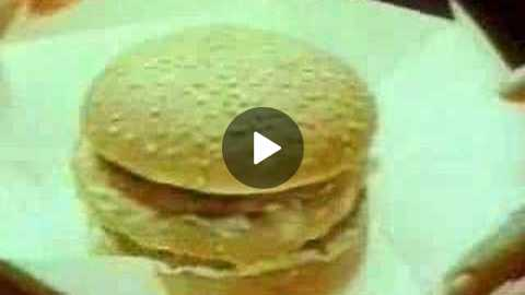 Very old Big Mac 70's commercial