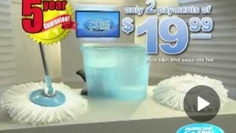 Hurricane Spin Mop | Official Commercial | Top TV Stuff