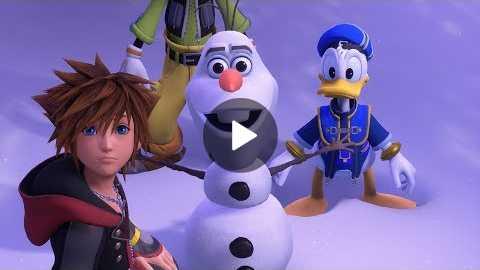 KINGDOM HEARTS III E3 2018 Frozen Trailer