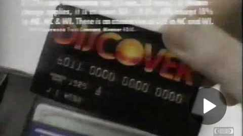 Discover Card | Television Commercial | 1991