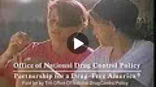 Drug Free America 1990s Commercial