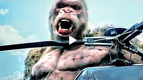 RAMPAGE Trailer #4 (2018) Dwayne Johnson Sci-fi Action Movie HD