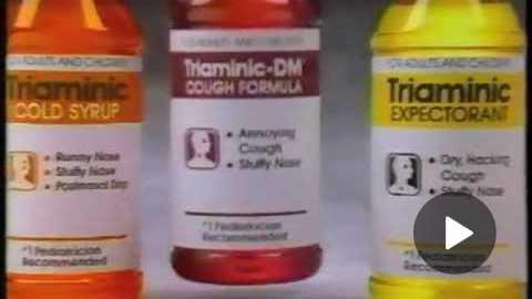 Triaminic Cold Medicine - You Remember the Triaminic - Commercial - 1988