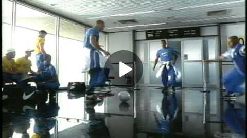 Nike Soccer- Brazil Airport 90 Seconds Super High Quality Soccer Commercial