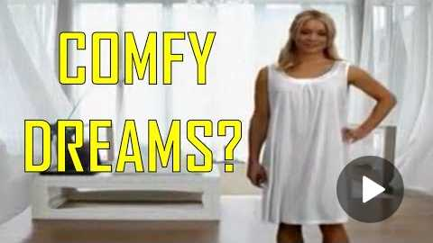 Comfy Dreams As Seen On TV Commercial Buy Comfy Dreams As Seen On TV Night Sweat Hot Flashes