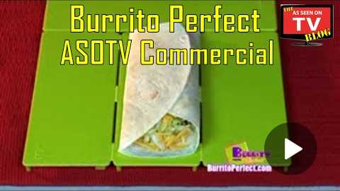 Burrito Perfect As Seen On TV Commercial Buy Burrito Perfect As Seen On TV Burrito Maker
