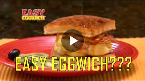 Easy Eggwich As Seen On TV Commercial Buy Easy Eggwich Egg Maker For Egg Sandwiches