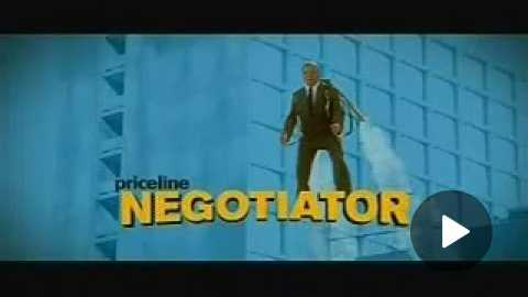 Priceline Negotiator commercial
