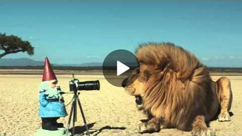The Travelocity Roaming Gnome: 'Safari' Commercial