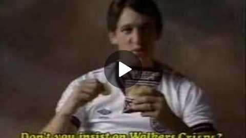 Walkers Crisps (Gary Lineker) - 1980's UK Advert
