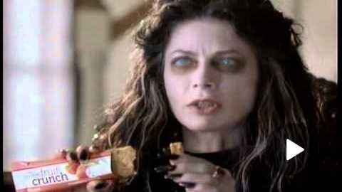 Kellogg's Nutri Grain Fruit Crunch Bar Vampire Commercial 2013