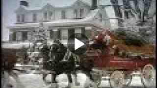 Retro Budweiser Christmas Commercial