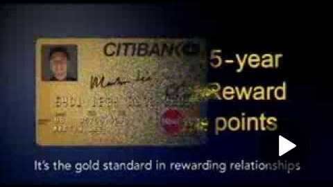 Citibank Gold Card 'Keeping Up' TVC