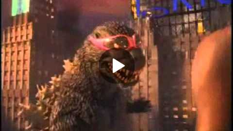 Nike Commercial - Godzilla vs Charles Barkley