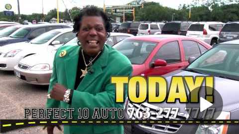 'PERFECT 10 AUTO' TV Commercial starring FANCY RAY!!!