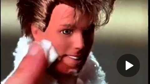 1995 Shaving Fun Ken Doll Commercial