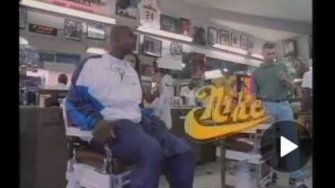 Nike Barbershop Chris Webber/Amanda