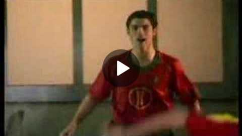 funny soccer commercial
