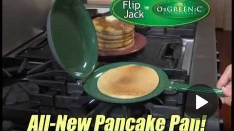 Flip Jack Pan - Official As Seen On TV Pancake Pan Commercial