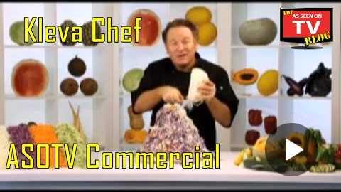 Kleva Chef As Seen on TV Commercial Buy Kleva Chef As Seen On TV Vegetable Slicer