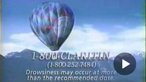 Claritin commerical