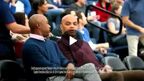 Capital One TV Commercial, 'Bleacher Banter Autograph' Featuring Charles Barkley