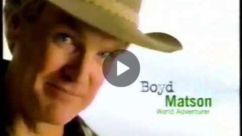 Discover Card, Boyd Matson, 1990s