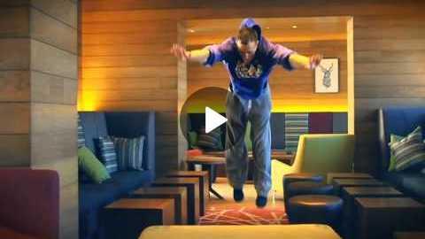 ALOFT London Hotel FreeRunning Commercial