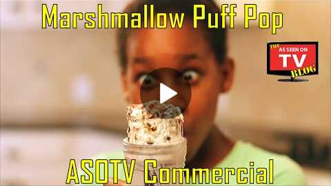 Marshmallow Puff Pop As Seen On TV Commercial Buy Marshmallow Puff Pop As Seen On TV Treat Maker