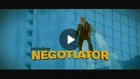Priceline Negotiator commercial