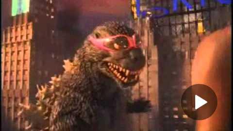 Nike Commercial - Godzilla vs Charles Barkley